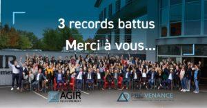 Photo de groupe AGIR RECOUVREMENT et PRÉ-VENANCE