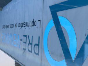 Bâtiment avec le logo Pré-venance