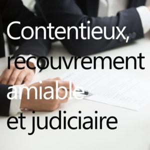 Formation contentieux, recouvrement amiable et judiciaire icon