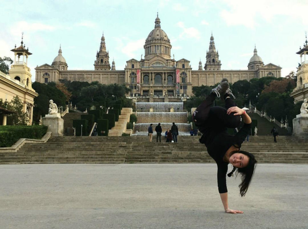 B-girl Fanny Bouddavong Jeux Olympiques 2024 breakdance